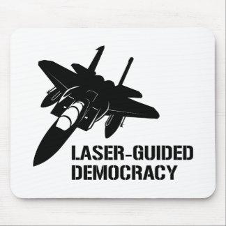 Démocratie paix à guidage laser par la puissance d tapis de souris