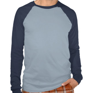 Démocratie/paix à guidage laser par la puissance d t shirt