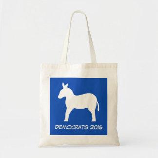 Democrats 2016 Election Donkey Blue Tote