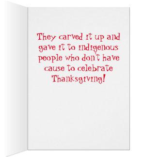 Democrats took your Thanksgiving turkey! Card