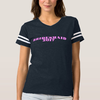 Demoiselle d'honneur 2017 t-shirt