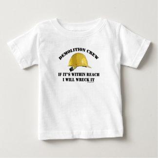 Demolition Crew Baby T-Shirt