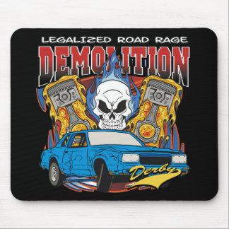 Demolition Derby Mouse Pad