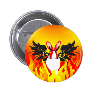 DEMON PINBACK BUTTONS