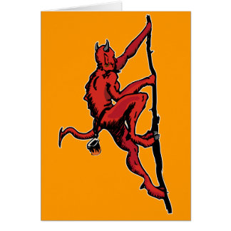 Demon Climber Card
