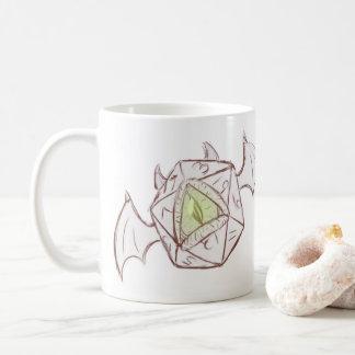 Demon D20 Sketch Mug