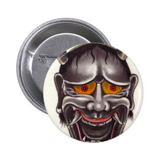 Demon Face 2 Inch Round Button