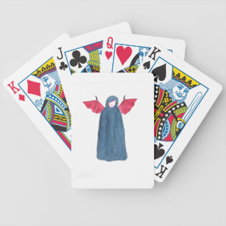 Demon Girl Bicycle Playing Cards