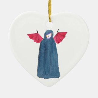 Demon Girl Ceramic Ornament