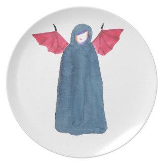 Demon Girl Plate