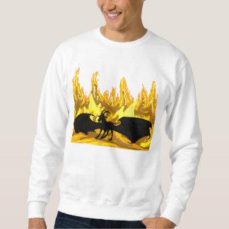 Demon Goat In Hell Sweatshirt