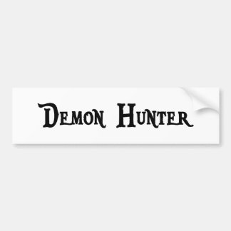 Demon Hunter Bumper Sticker