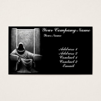 Demon Hunter Business Card