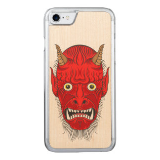 Demon Illustration Carved iPhone 8/7 Case