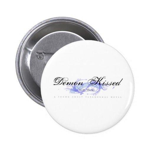 Demon Kissed Logo Pins