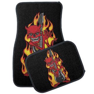 Demon of Rock Car Mat
