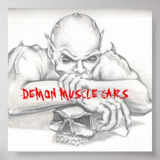 DEMON OPTION 1, DEMON MUSCLE CARS POSTER