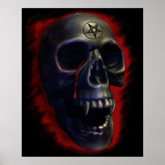 Demon Skull 1 Poster