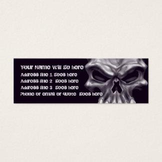 Demon Skull Business Card