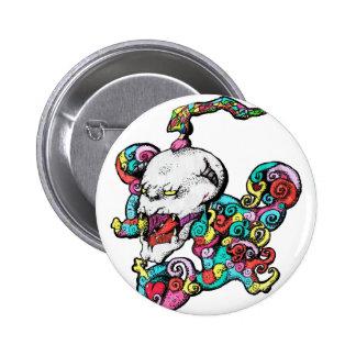 Demon Skull Button