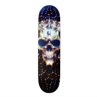 Demon Skull Element Custom Pro Park Board Skateboard