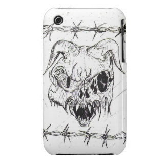 Demon Skull iPhone 3 Case-Mate Case