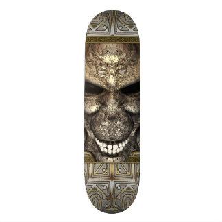 Demon Skull Custom Skateboard