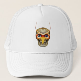 Demon Skull Trucker Hat