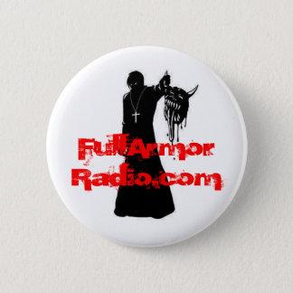 Demon Slayer, FullArmorRadio.com 2 Inch Round Button