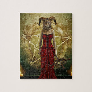 Demon Women Jigsaw Puzzle