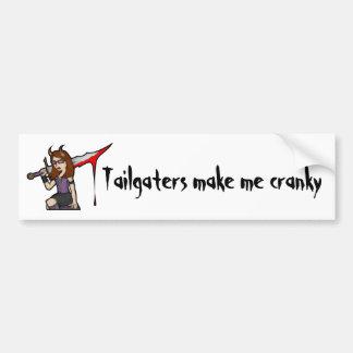 Demona Tailgate Bumper Sticker