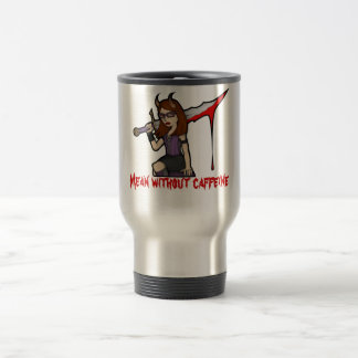 Demona Travel Mug Mean Red