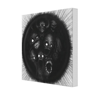 Demonic Canvas Print