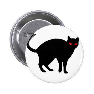 Demonic Cat Button