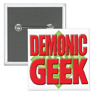 Demonic Geek v2 Pin