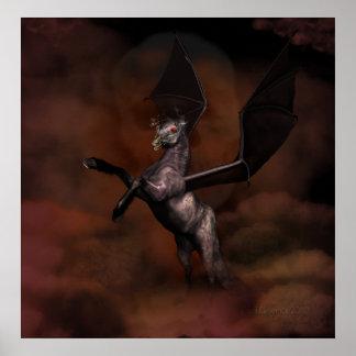 demonic stallion poster
