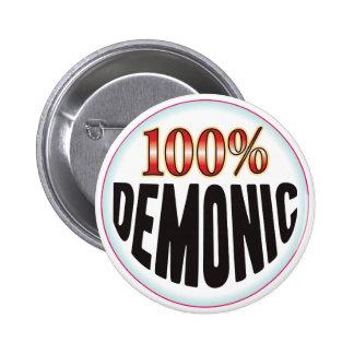Demonic Tag Pin