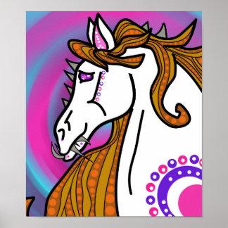 demonimals demon horse poster