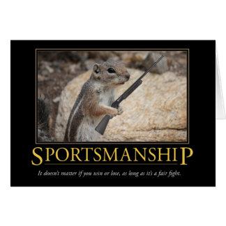 Demotivational Card: Sportsmanship