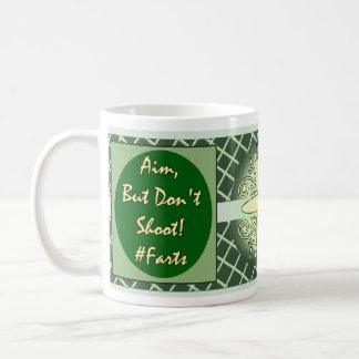 Demotivational Mugs_Aimbutdontshoot Classic White Coffee Mug