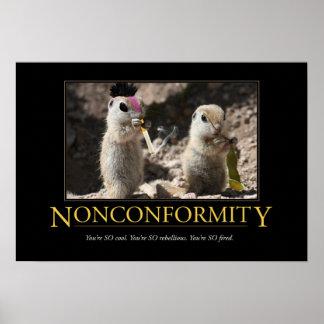 Demotivational Poster: Nonconformity Poster