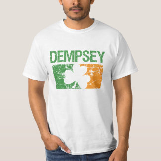Dempsey Surname Clover T-Shirt