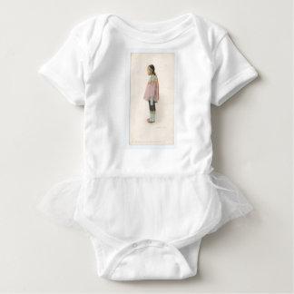 Demure and Shy Baby Bodysuit