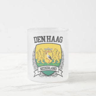 Den Haag Frosted Glass Coffee Mug