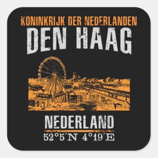 Den Haag Square Sticker