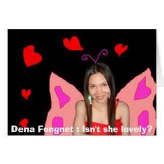 Dena Fongnet : Isn't she lovely? Card