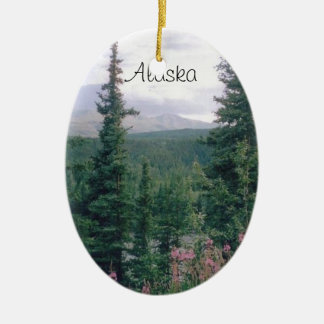 Denali, Alaska Ceramic Ornament