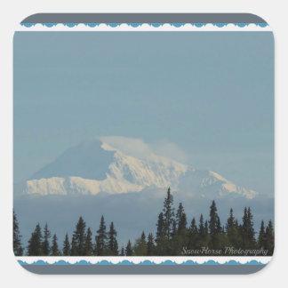 Denali ~ Alaska Square Sticker