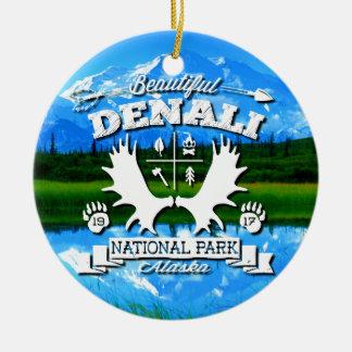 Denali Camper Ceramic Ornament