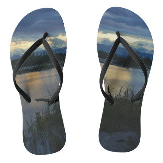 Denali Midnight Sunset Flip Flops